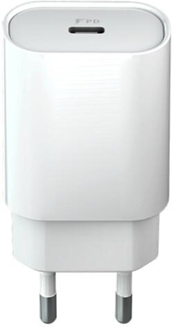 Forever CORE nabíječka USB-C PD, 18W, bílá