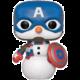 Figurka Funko POP! Bobble-Head Marvel - Cap Snowman