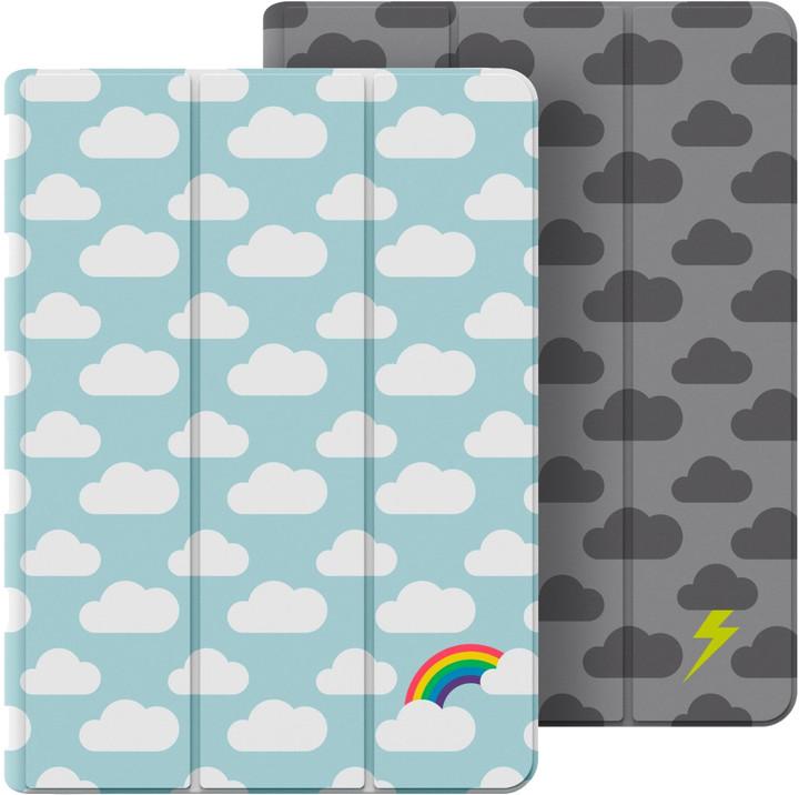 Belkin oboustranné pouzdro pro iPad Air 2 - duha/bouřka