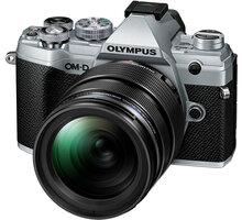 Olympus E-M5 Mark III + 12-40mm PRO, stříbrná/černá - V207090SE020