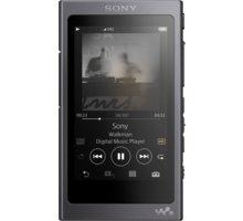 Sony NW-A45HN, 16GB, černá - NWA45HNB.CEW