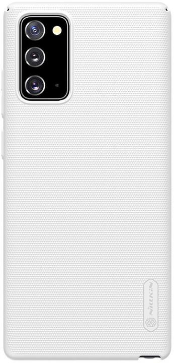 Nillkin zadní kryt Super Frosted pro Samsung Galaxy Note20, bílá
