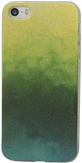 EPICO pouzdro pro iPhone 5/5S/SE GRADIENT RAINBOW - green