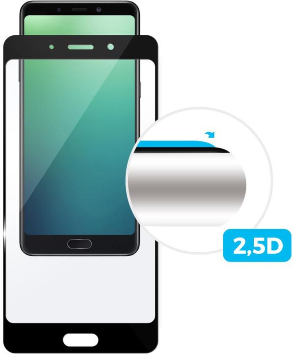 FIXED Full-cover ochranné tvrzené sklo pro Huawei P20 Lite, přes celý displej, černé, 0.33 mm