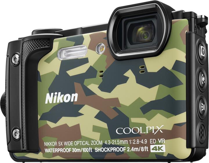 Nikon Coolpix W300, camouflage