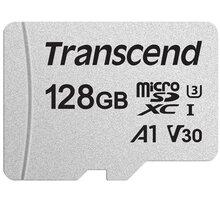 Transcend Micro SDXC 128GB 300S UHS-I U3 A1 - TS128GUSD300S