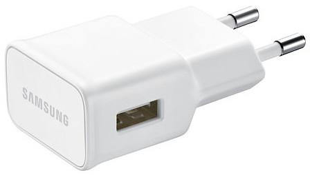 Samsung EP-TA10EW cestovní nabíječ 2A/21pin, bílá bez kabelu