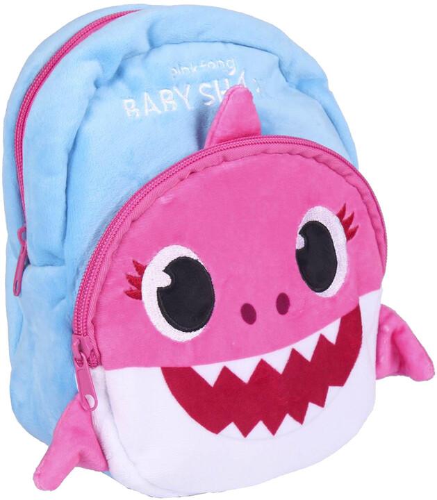 Batoh Baby Shark - růžový