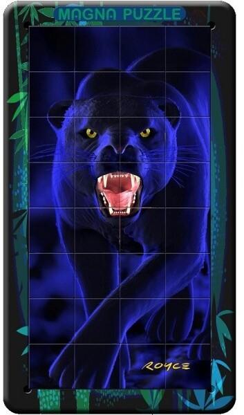 Puzzle Piatnik Panter, magnetické, 3D, 36 dílků