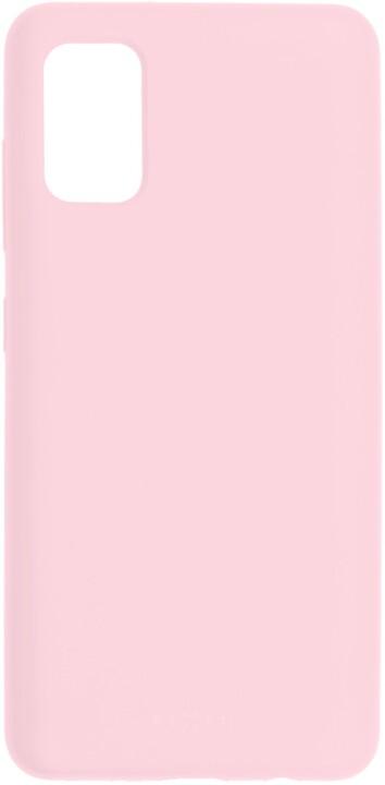FIXED silikonový kryt Flow pro Samsung Galaxy A41, růžová