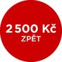 Cashback 2 500 Kč po registraci