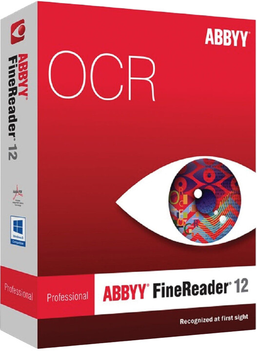 ABBYY FineReader 12 Professional / BOX / CZ