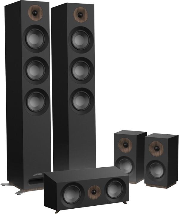 Jamo S 809 HCS, černá