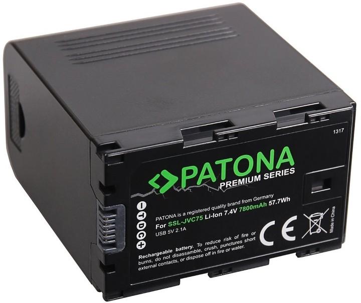 Patona baterie pro digitální kameru SSL-JVC50/JVC75 7800mAh Li-Ion PREMIUM
