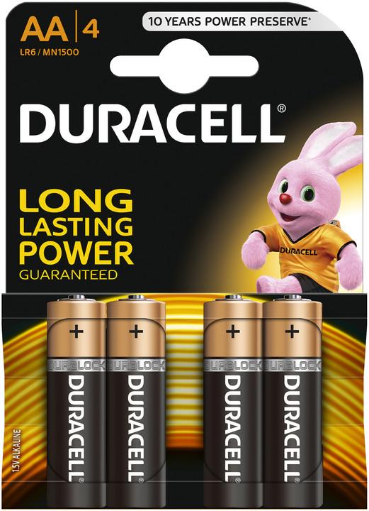 Duracell Basic AA, 4ks