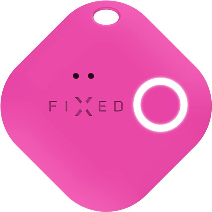 FIXED Key finder Smile s motion senzorem, růžová