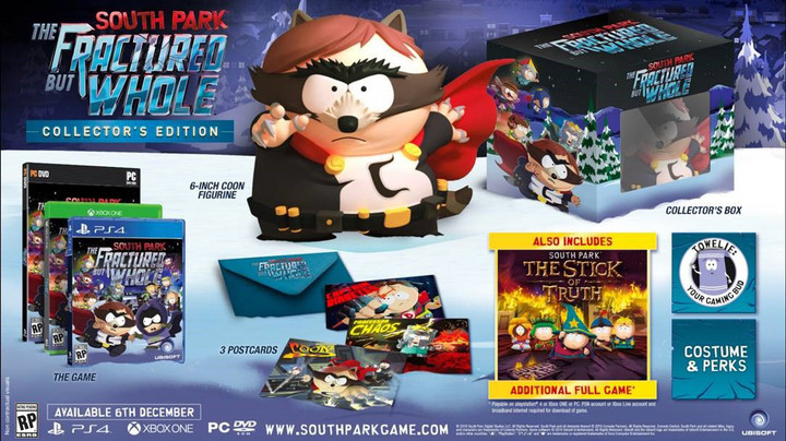 South Park: The Fractured But Whole - Collector's Edition (PS4)