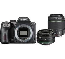 Pentax K-70, černá + DAL 18-50mm WR + DAL 50-200mm WR - 16295