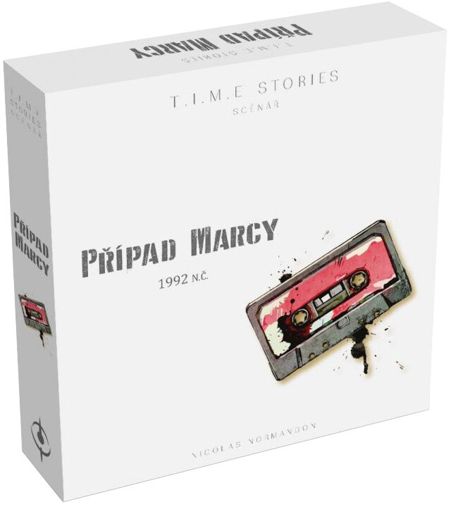 Desková hra T.I.M.E. Stories - Případ Marcy