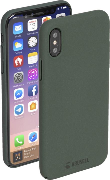 Krusell zadní kryt SANDBY pro Apple iPhone X, mechová
