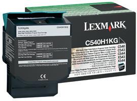 Lexmark C540H1KG - černá, return