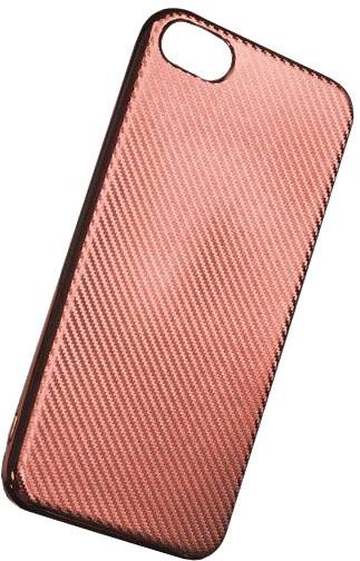 Forever silikonové (TPU) pouzdro pro Apple iPhone 6 PLUS, carbon/růžová/zlatá