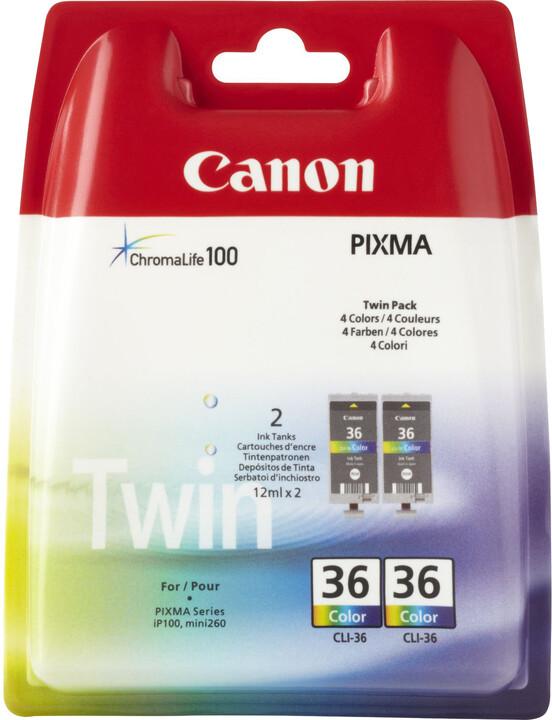 Canon CLI-36 color 2pack, barevná