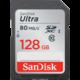 SanDisk SDXC Ultra 128GB 80MB/s UHS-I