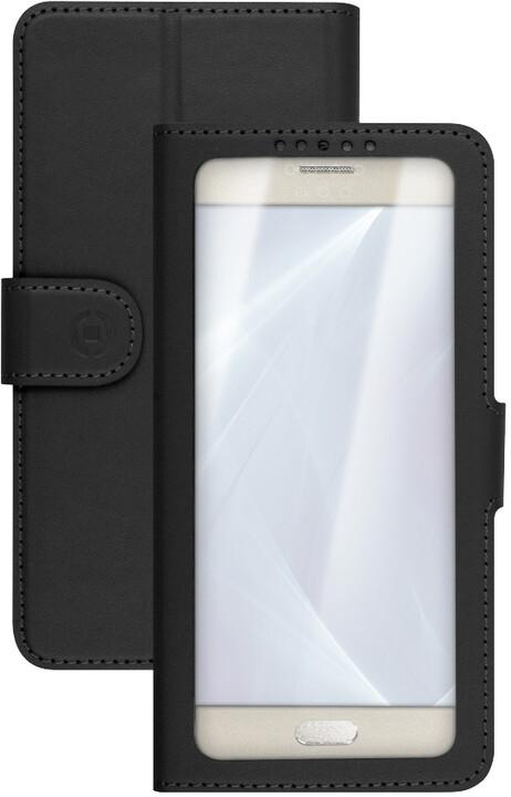 "CELLY View Unica pouzdro typu kniha, velikost XL, 4,5"" - 5"", černé"
