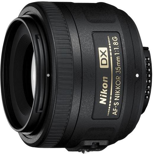 Nikon objektiv Nikkor 35mm f/1.8G AF-S DX