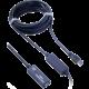 PremiumCord USB 3.0, A/M-A/F, 10m repeater a prodlužovací kabel