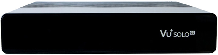 VU+ Solo SE V2 (1x dual DVB-T2/T/C), černá