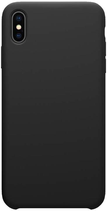 Nillkin Flex Pure Liquid silikonové pouzdro pro iPhone XS, černá