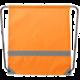 Stahovací batoh s reflexním pruhem (v ceně 149 Kč)