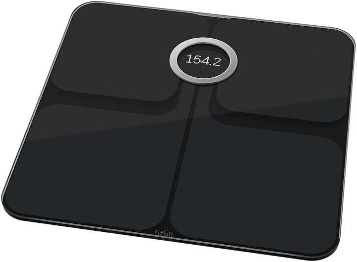 048eb0152 Fitbit Aria 2, černá osobní váha FB202BK-EU | CZC.cz