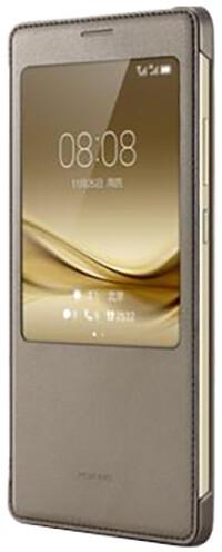 Huawei Original S-View Pouzdro Brown pro Mate 8 (EU Blister)