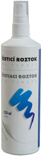 D-clean čistící roztok na plasty bez alkoholu (250ml)