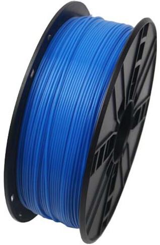 Gembird tisková struna (filament), ABS, 1,75mm, 1kg, fluorescentní modrá