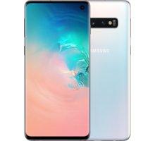 Samsung Galaxy S10, 8GB/512GB, bílá  + Youtube Premium na 4 měsíce zdarma + Půlroční předplatné magazínů Blesk, Computer, Sport a Reflex v hodnotě 5 800 Kč