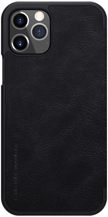 "Nillkin pouzdro Qin Book pro iPhone 12 Pro Max (6.7""), černá"