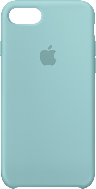 Apple Silikonový kryt na iPhone 7/8 – mořsky modrý