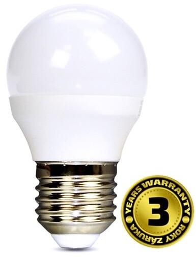 Solight žárovka, miniglobe, LED, 8W, E27, 3000K, 720lm, bílá
