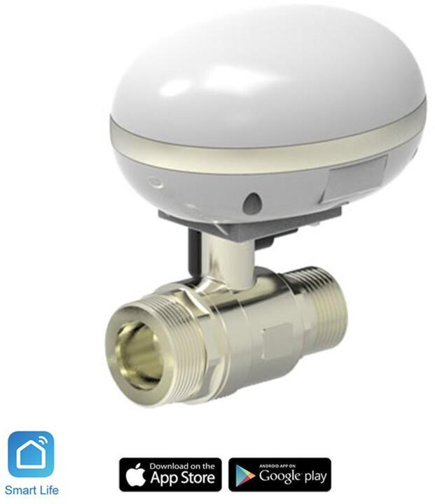 """iQtech SmartLife Chytrý ventil pro zavlažování QT-03-3/4"""", Wi-Fi"""