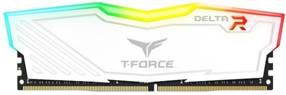 Team T-FORCE Delta RGB 8GB DDR4 2400, white