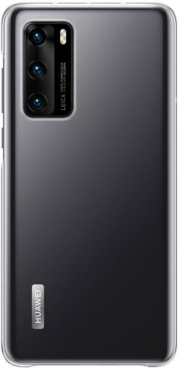 Huawei ochranné pouzdro pro P40, transparentní
