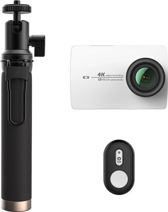 Yi 4K Action Camera 2 Travel Edition, bílá