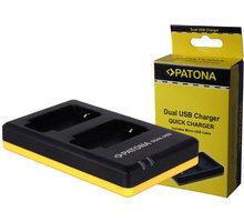 Patona nabíječka Dual Quick Nikon EN-EL12 USB - PT1973