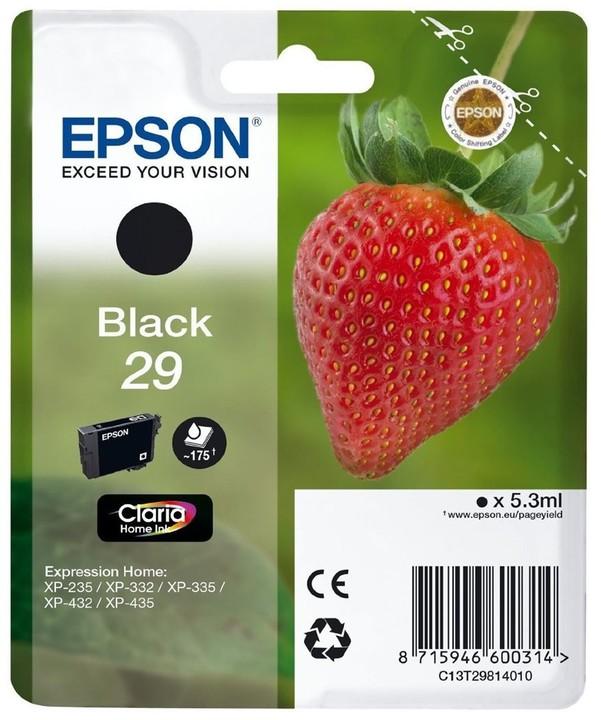 Epson C13T29814010, černá