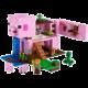 LEGO Minecraft 21170 Prasečí dům Elektronické předplatné deníku Sport a časopisu Computer na půl roku v hodnotě 2173 Kč + O2 TV Sport Pack na 3 měsíce (max. 1x na objednávku)