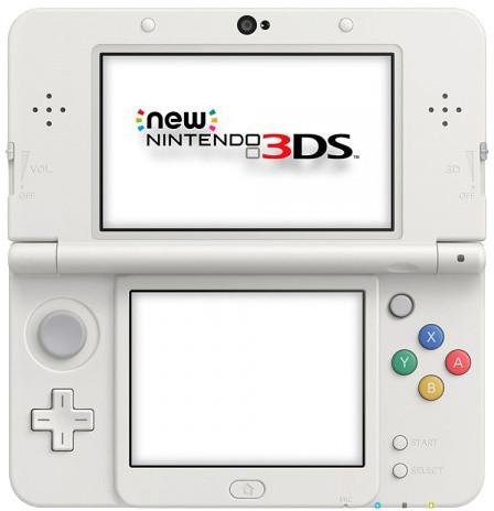 Nintendo New 3DS, bílá